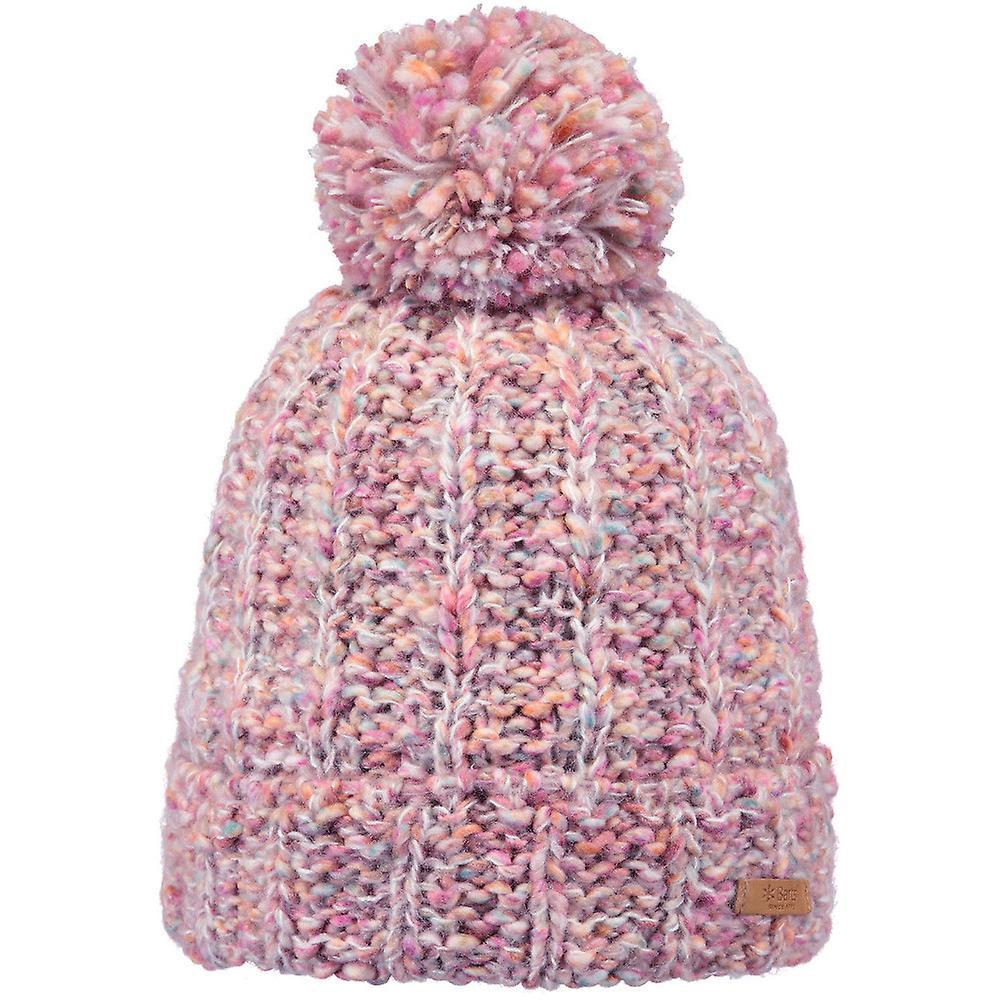 Barts Womens Myla Warm Knitted Pom Pom Winter Beanie Hat