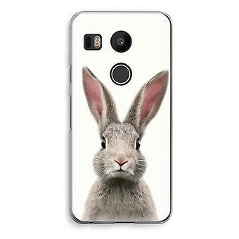 LG Nexus 5X Transparent Case - Daisy