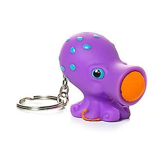 Cerdo salvaje juguetes Popper pulpo llavero