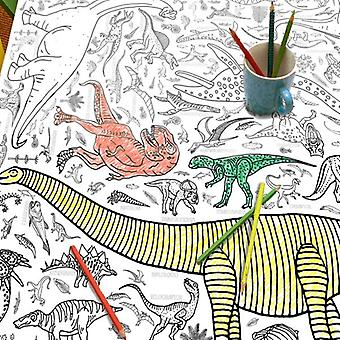 Giant Poster / Tablecloth - Dinosaurs