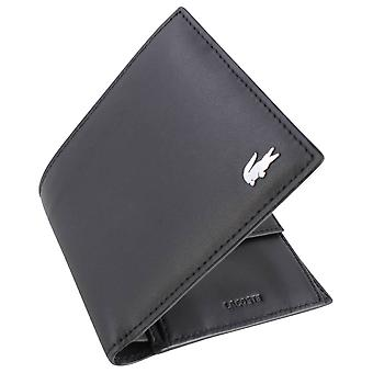 Lacoste Large Billfold and Coin Wallet - Black