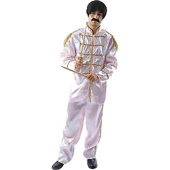 Lonely Hearts Band Fancy Dress Costume - Pink
