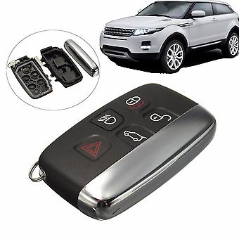 5 Knop Afstandsbediening FOB Key Case Cover Shell Voor LAND ROVER LR4 Range Rover Sport Evoque