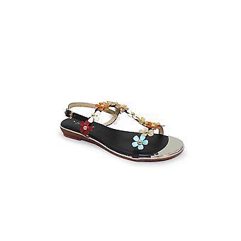 Lunar Tonga 'T' Bar Floral Sandal