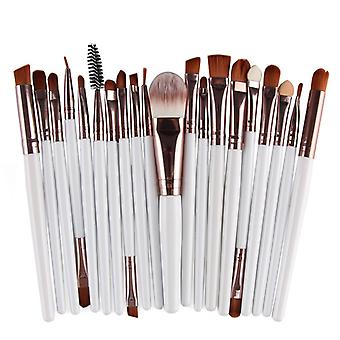 Multi pack with makeup brushes-Rosé with white shaft
