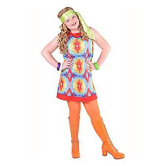 Kinder Kostüme Batik Hippie-Kleid für Mädchen