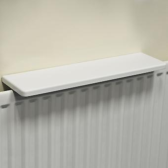 Chunky Gloss Over Radiator Shelf 60cm / 2ft  - White
