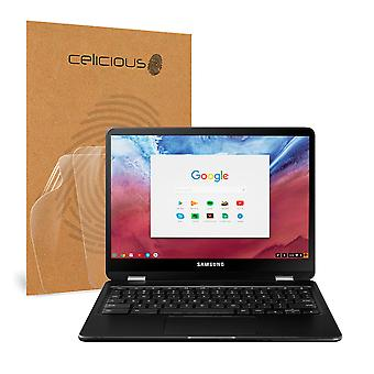 Celicious Vivid Invisible Glossy HD Screen Protector Film Compatible with Samsung Chromebook Pro [Pack of 2]