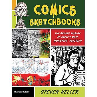 Strips Sketchbooks - de onzichtbare wereld van vandaag de meest creatieve talenten
