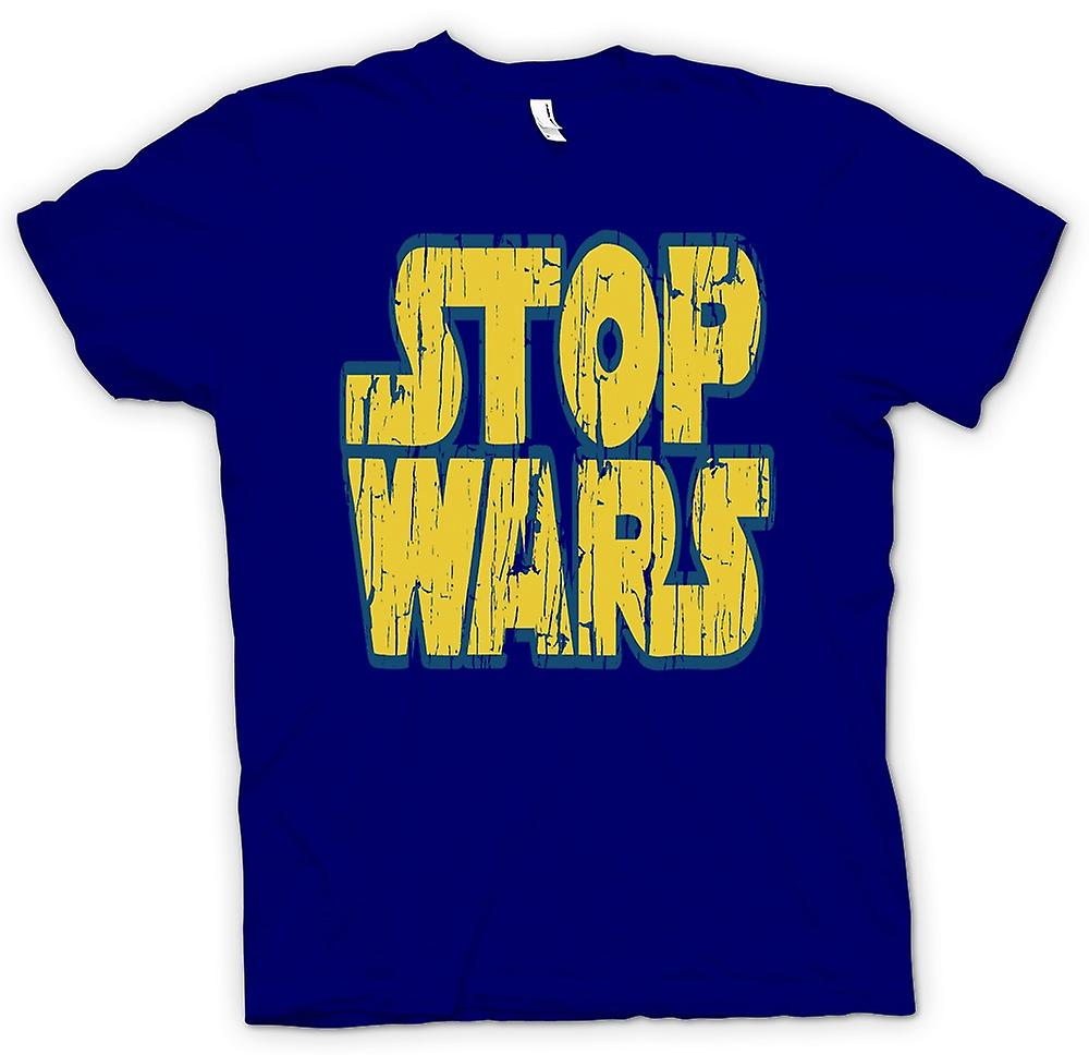 Mens T-shirt - Stop Wars (Star Wars) - Conspiracy - Funny