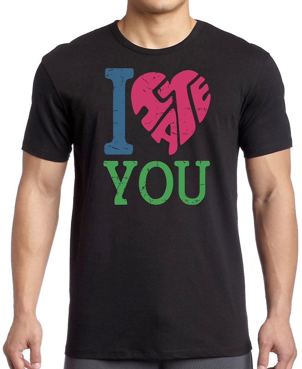 I Love (Hate) You - Funny Crude T Shirt