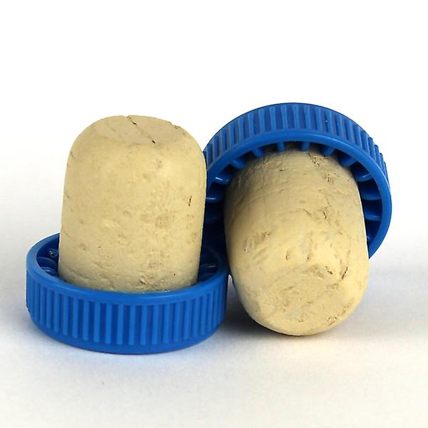 Plastic topped corks - Blue bag of 1000