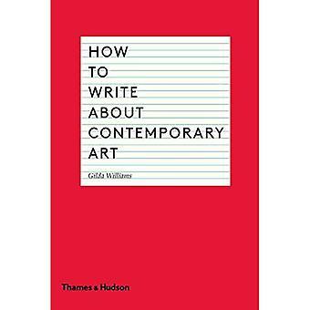 Come scrivere su arte contemporanea