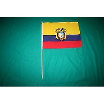 Ecuador Hand Held Flag