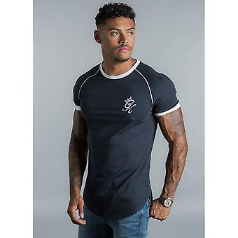 Gym King Navy Guzik T-shirt