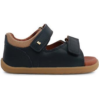 Bobux Step Up jongens drijfhout sandalen marineblauw