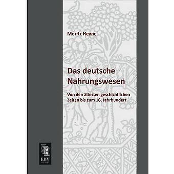 Das Deutsche Nahrungswesen by Heyne & Moritz
