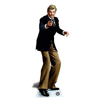 Roger Moore Bond Lifesize Cardboard Cutout / Standee / Standup