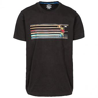 Trespass Mens Cycle Quick Dry Short Sleeve Graphic T Shirt