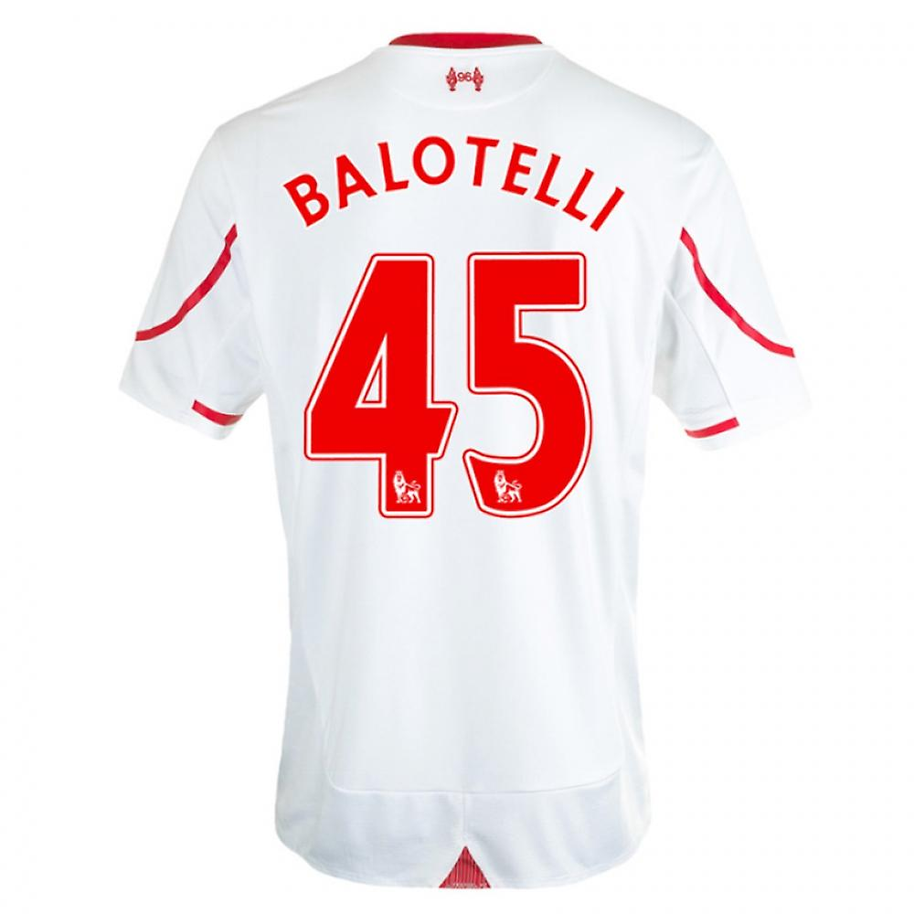 2015-16 Liverpool Away Shirt (Balotelli 45) - Kids