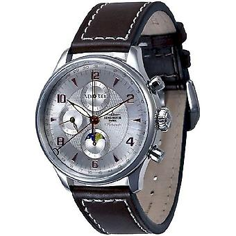 Zeno-watch mens watch Godat II Fullcalendar chronograph 6273VKL-g3