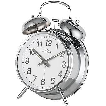Nostalgia alarm clock twin Bell alarm clock mechanical Luminescent Hands