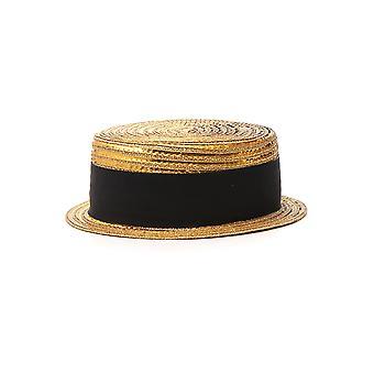 Saint Laurent Nude Canvas Hat