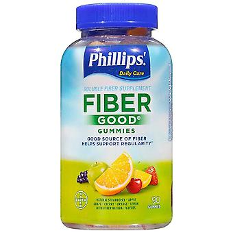 Phillips fiber good gummies, natural fruit flavors, 90 ea