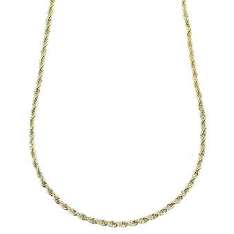 Gold Plated RUN DMC HIP HOP Rope Chain, Dookie Chain 3mm X 24 Inches FILLED - BEST QUALITY