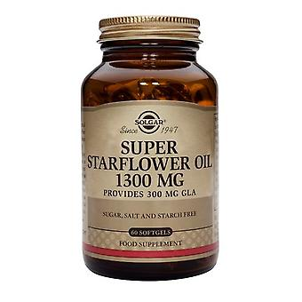 Solgar, Super Starflower olie 1300mg gelcapsules, 60