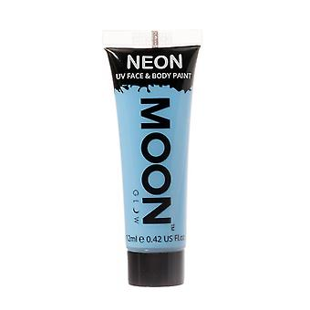 Moon Glow - 12ml Neon UV Face & Body Paint - Pastel Blue