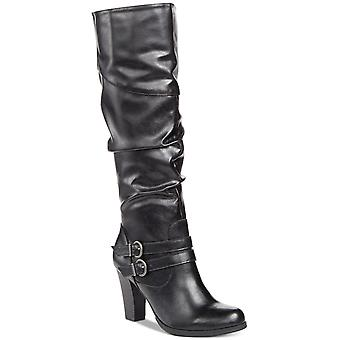 Style & Co. Womens Sana Almond Toe Mid-Calf Fashion Boots