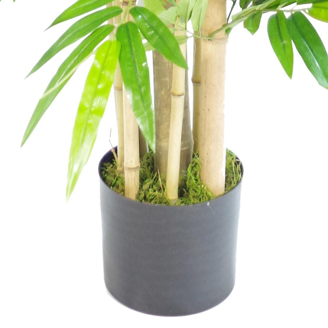 120cm Extra Bushy Wide Artificial Panda Bamboo - Premium Range