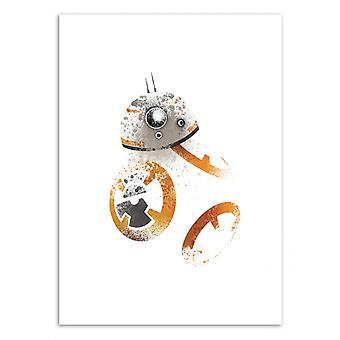 Art-Poster - Astromech BebeAte - Arian Noveir 50 x 70 cm