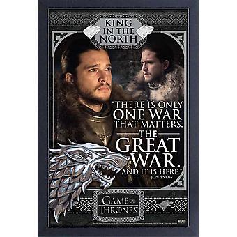Poster - Studio B - Game of Thrones - Jon Snow- Great War 36x24