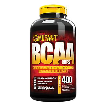 Mutant BCAA eiwitsynthese supplement capsules