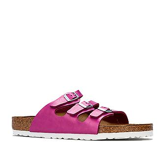 Womens Birkenstock Florida Sandals Regular Width in graceful magenta haze.