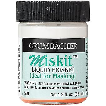 Grumbacher Miskit Liquid Frisket 1.2 Ounces 559