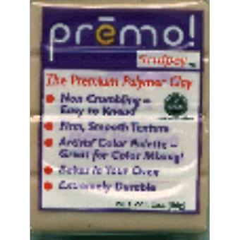 Premo Sculpey Polymer Clay 2 Ounces Beige Pe02 5092