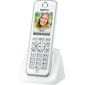Cordless VoIP AVM FRITZ!Fon C4 Hands-free, Headset connection Colour White, Silver