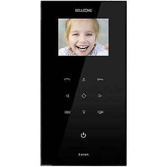 Video door intercom Corded Indoor panel Bellcome VT2.3X0.BLB Black