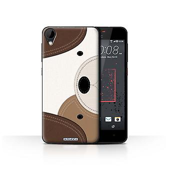 STUFF4 Case/Cover for HTC Desire 825/Dog/Animal Stitch Effect