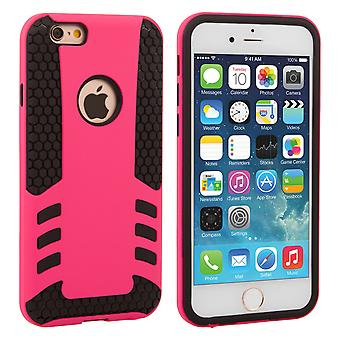 Caseflex iPhone 6 6s Border Combo Case Hot Pink