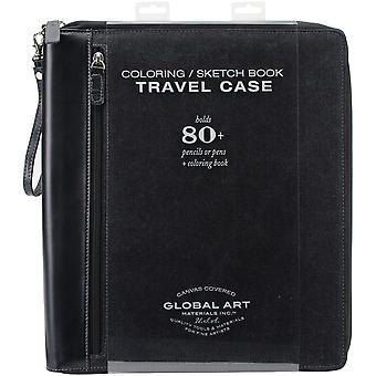 Coloring Book Case-Large Holds 81-Black 859600