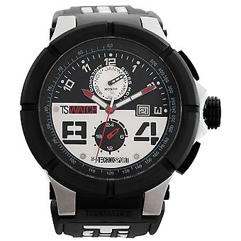 TechnoSport Chrono men's watch - black / white