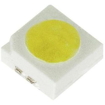 SMD LED Non-standard Warm white 120 ° 180 mA 3.6 V Dominant Semiconductors NAF-BSG-MN-1