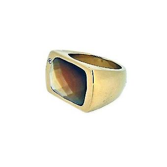 Misaki unisex ring stainless steel gold Gr. 56 BLONDIE QCURBLONDIE56