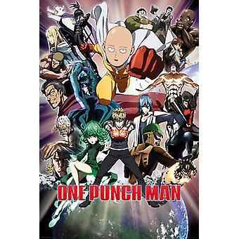 Un golpe hombre Collage Maxi Poster