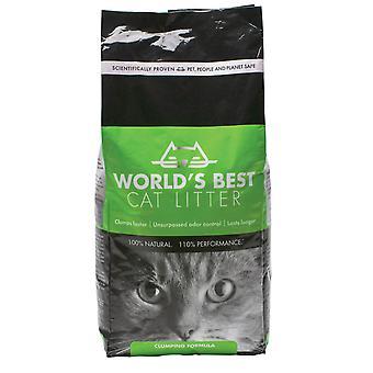 Verdens bedste kattegrus sammenklumpning formel 12,7 kg