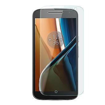 2 x Genuine Tempered Glass LCD Screen Protector Film For Motorola Moto G4